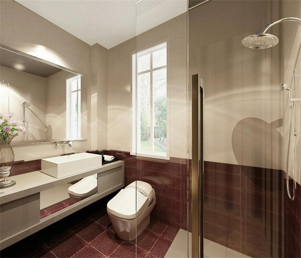 卫生间图片来自天津科艺隆装饰在和泓四季恋城-港式风格-103平的分享
