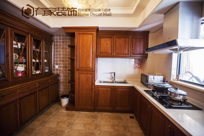欧式 古典 复式 厨房图片来自有家装饰费欢在【有家装饰】罗马佳洲的分享