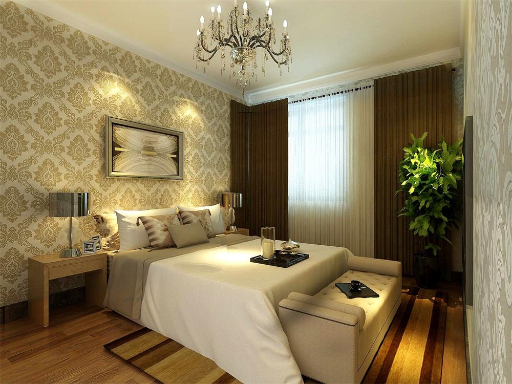 卧室图片来自天津科艺隆装饰在和泓四季恋城-港式风格-103平的分享