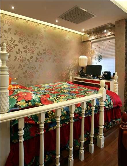 卧室图片来自天津印象装饰有限公司在印象装饰 案例赏析 2015-6-30的分享