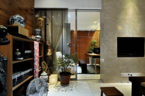中式 北京装修 旧房改造 80后 小资 阳台图片来自二手房装修在诗情画意东方美的分享