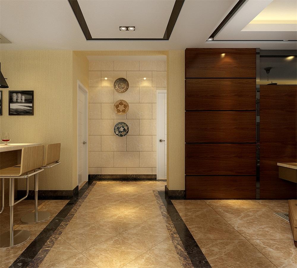 玄关图片来自天津科艺隆装饰在和泓四季恋城-港式风格-103平的分享