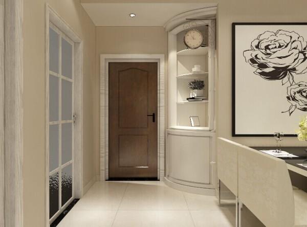 简单的线条,不花哨的设计,整体暖色的色调,打造了一间风格简约的客厅。