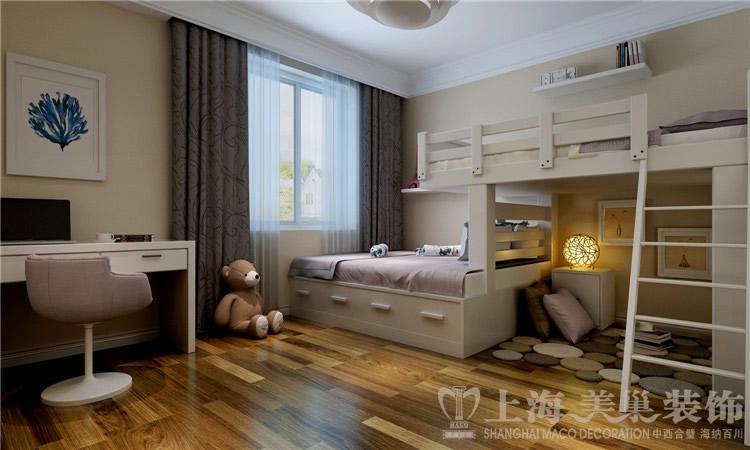 简约 三居 白领 80后 小资 卧室图片来自美巢装饰--李凌晨在九龙城120平现代简约装修效果图的分享