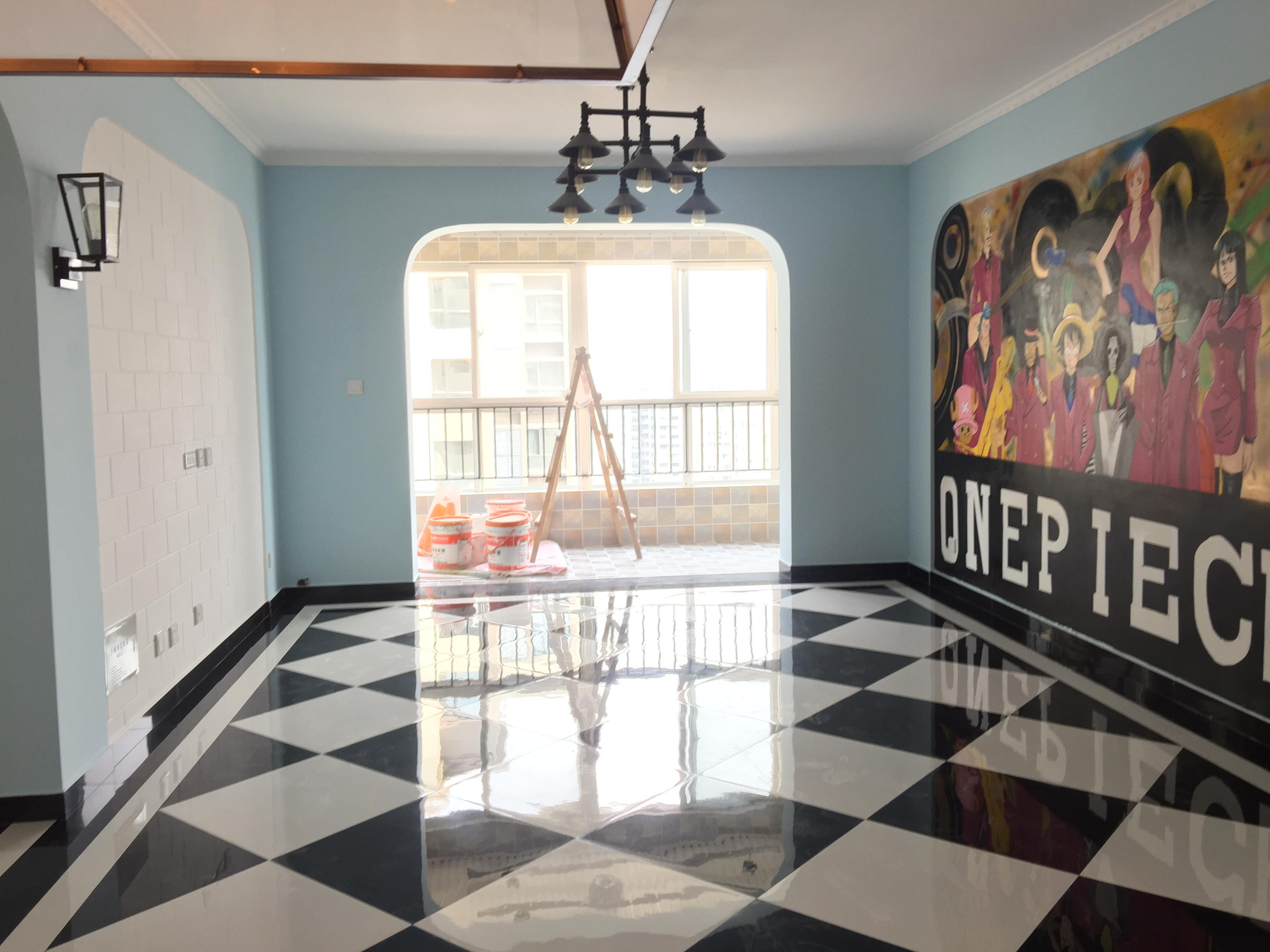 三居 80后 地中海风格 白领 收纳 客厅图片来自装饰装修-18818806853在跟海贼王一起游地中海风格实景图的分享