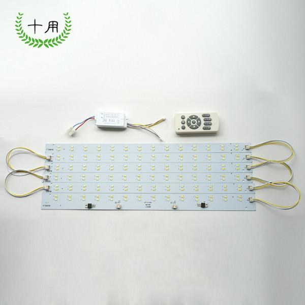 这样的灯板是替代传统的荧光灯灯管和方形灯