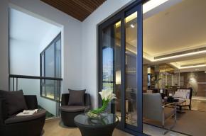三居 旧房改造 80后 小资 中式 北京装修 阳台图片来自二手房装修在新中式风格高逼格的分享