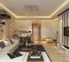 简洁和实用是现代简约风格的基本特点。    在功能方面,客厅是主人品味的象征,体现了主人品格,地位,也是交友娱乐的场合