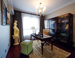 欧式 温馨 大气 三居 别墅 白领 80后 客厅 书房图片来自德瑞意家装饰俎越在搭配合理的欧式完美境界的分享