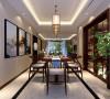 曲江亮丽家园150平米中式