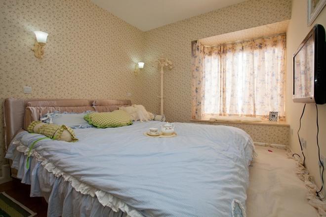 二居 卧室图片来自四川岚庭装饰工程有限公司在70㎡唯美地中海,套二变套三的分享