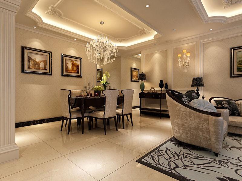 日升装饰 欧式装修效 装修公司 餐厅图片来自西安日升装饰在曲江观邸140平米欧式的分享