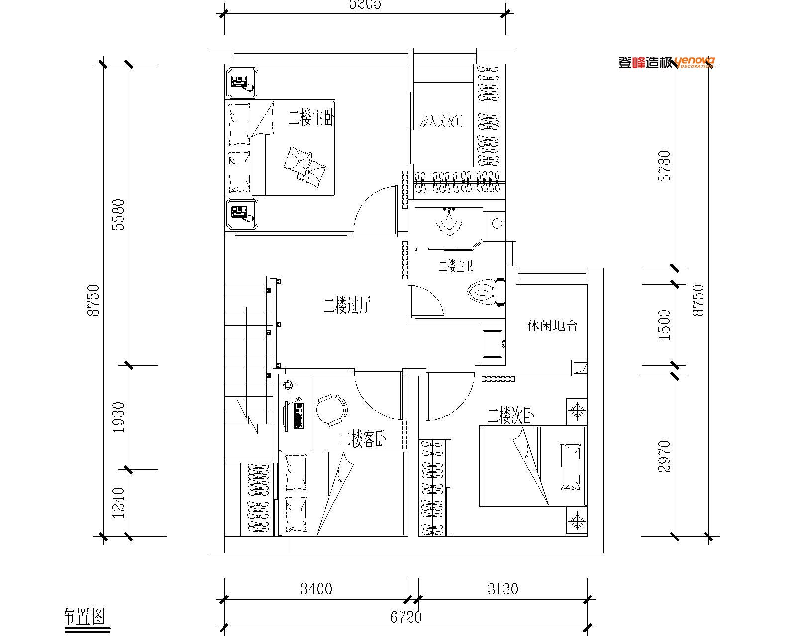 现代 红星美凯龙 收纳 小资 环保装修 户型图图片来自兰州业之峰大户型设计中心在兰州红星紫郡100loft经典案例的分享