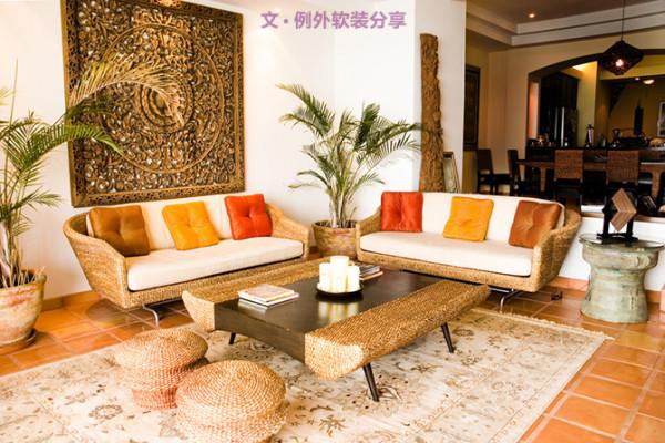 由于地处热带地区,东南亚家具设计往往摒弃了复杂的装饰,代之以简单的线条、简洁的框架,为家具营造清凉舒适的感觉。