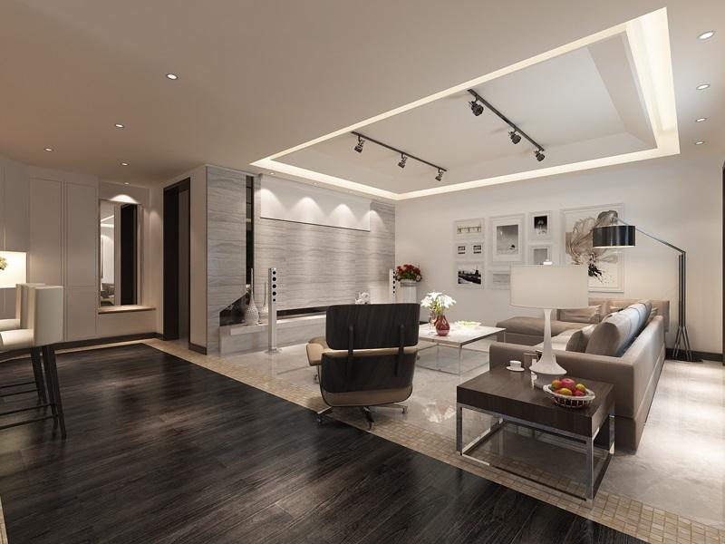 现代简约 枫叶新都市 小资 客厅图片来自西安业之峰装饰在枫叶新都市——现代简约风格的分享