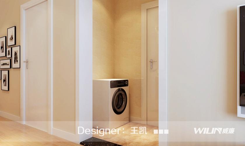 卫生间图片来自青岛威廉装饰在鲁商蓝岸的分享