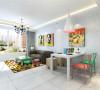 该户型整体风格是现代简约风格适合于三口之家居住,以简洁明快的设计风格为主调,简洁和实用是现代简约风格的基本特点。