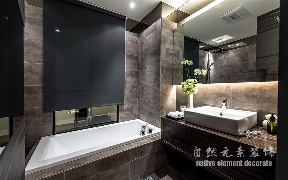 水木丹华 美式 小资 三居 白领 卫生间图片来自自然元素装饰在水木丹华——后现代主义的分享