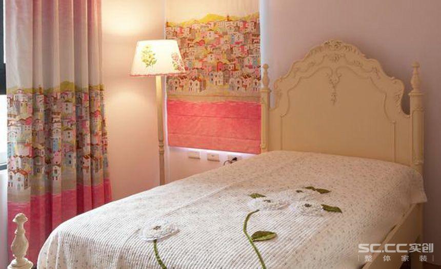 二居 田园 儿童房图片来自实创装饰晶晶在象屿鼎城92平2居复古乡村田园家的分享
