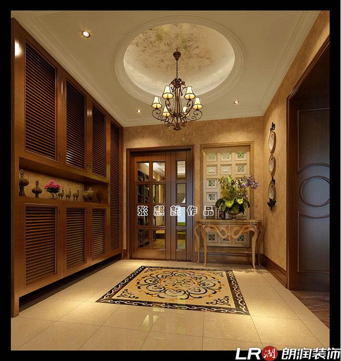混搭 三居 四居 别墅 跃层 美式 客厅图片来自朗润装饰工程有限公司在城南一号245平米美式风格的分享