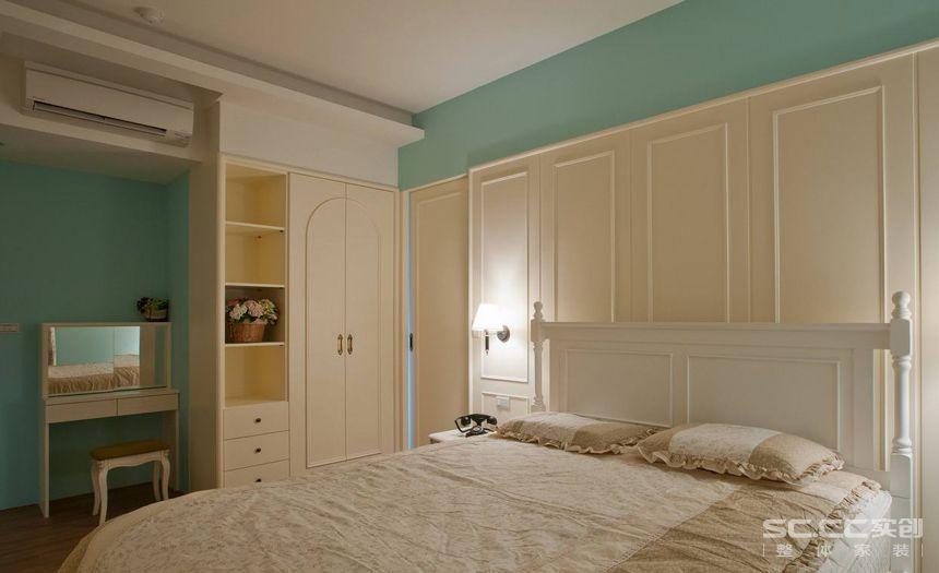 二居 田园 卧室图片来自实创装饰晶晶在象屿鼎城92平2居复古乡村田园家的分享