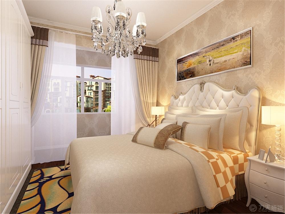 欧式 三居 白领 收纳 80后 小资 卧室图片来自阳光力天装饰在力天装饰-静海天逸园120㎡的分享