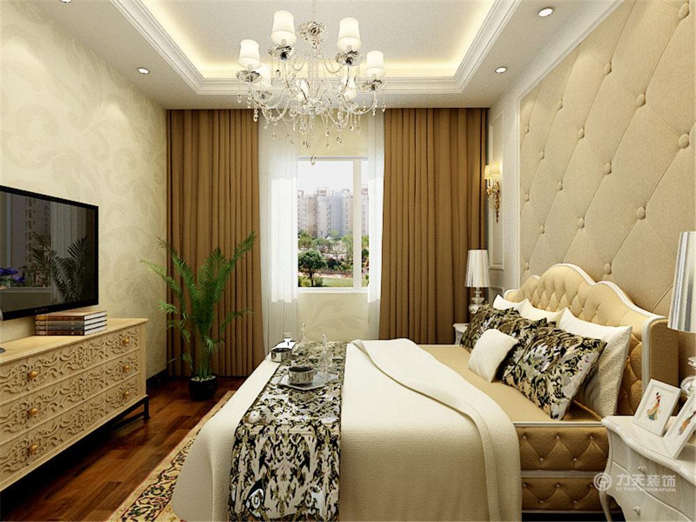 欧式 简约 三居 白领 收纳 80后 小资 卧室图片来自阳光力天装饰在力天装饰-金侨公园壹号123.00㎡的分享