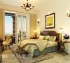 普罗旺世140平错层三室三厅美式乡村风格装修案例-卧室