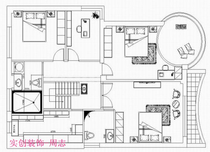 武汉实创 知音半岛 家装 新古典 别墅 复式楼图片来自武汉实创装饰的博客在知音半岛150平新古典全包的分享