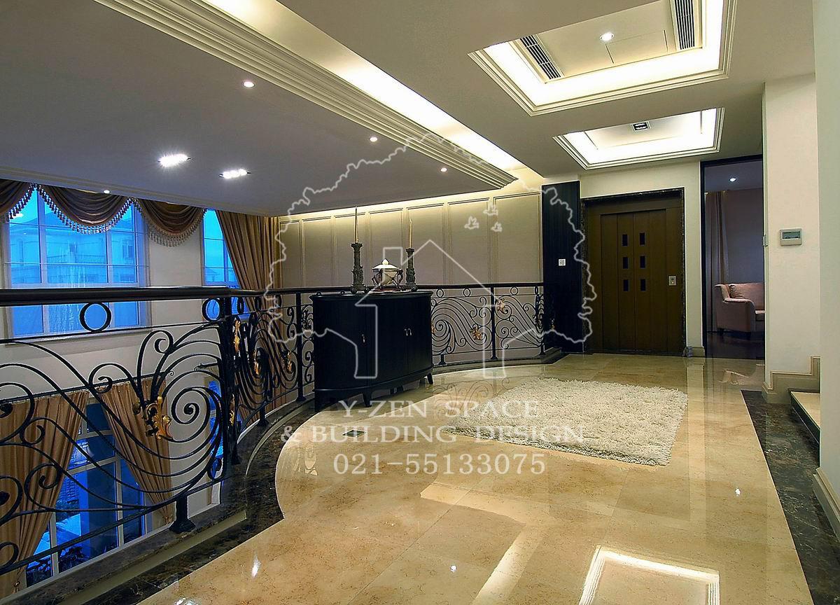 简约 别墅 客厅 卧室 厨房 餐厅图片来自宜贞空间设计在低调奢华现代别墅装修的分享