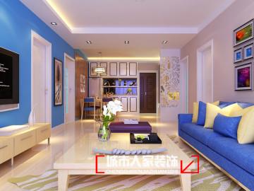 华峪东区18号楼94平米装修设计