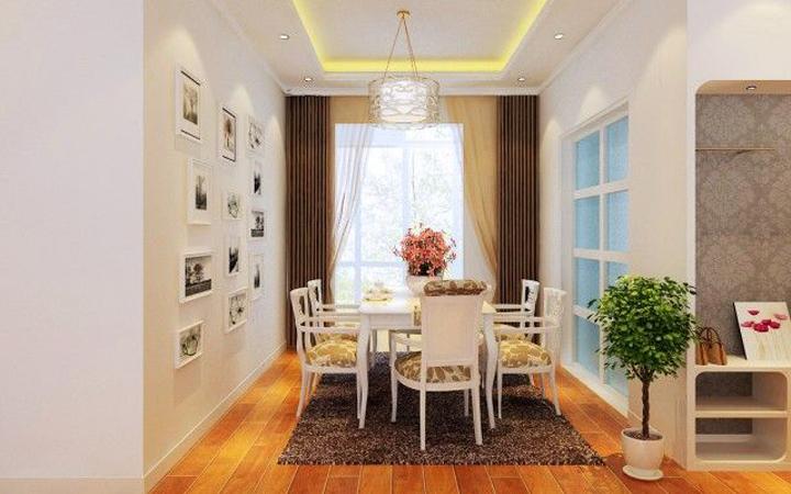 简约 三居 餐厅图片来自青岛德隆装饰在现代-鸿泰兰亭的分享