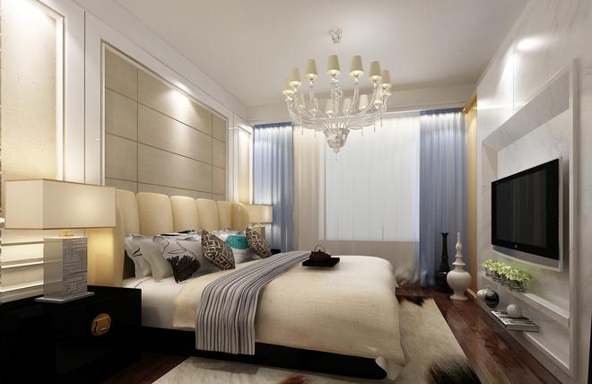 三居 卧室图片来自四川岚庭装饰工程有限公司在标筑设计的分享
