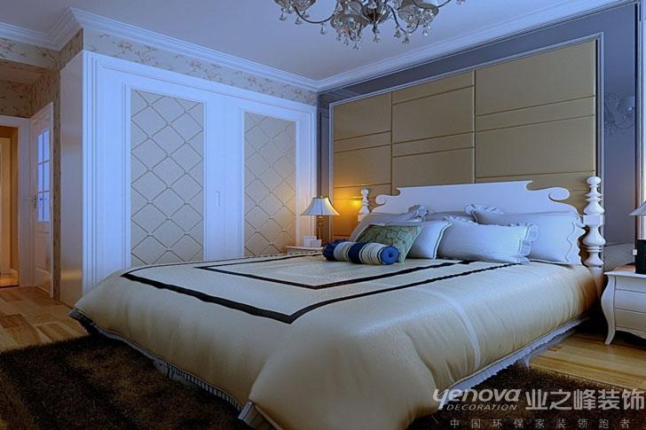现代 简洁 时尚 卧室图片来自兰州业之峰大户型设计中心在兰州安澜祥园经典案例的分享