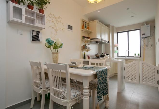 二居 厨房图片来自四川岚庭装饰工程有限公司在70㎡唯美地中海,套二变套三的分享