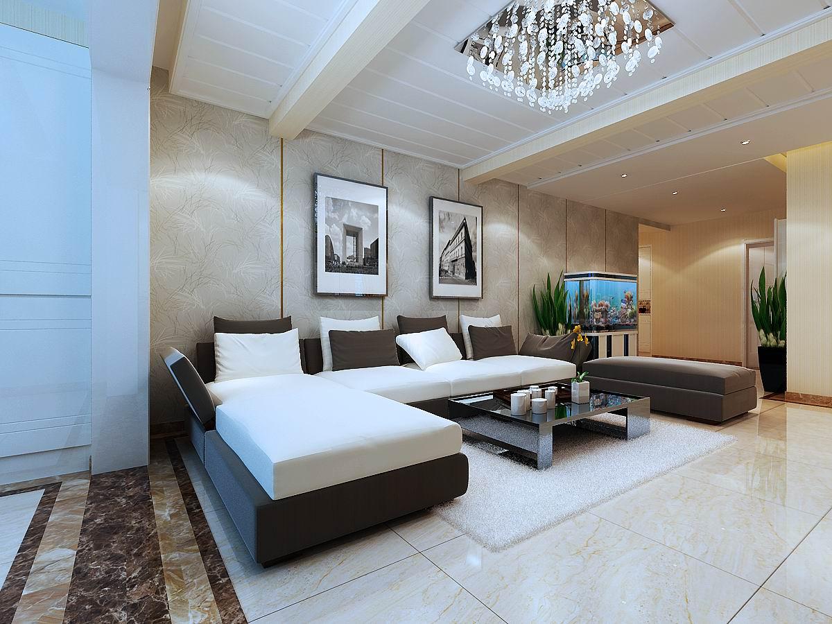 客厅沙发背 客厅图片来自兰州业之峰大户型设计中心在兰州北新时代146经典案例的分享