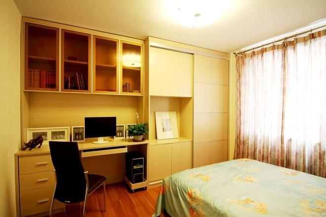 二居 卧室图片来自四川岚庭装饰工程有限公司在潮流小舒适现代简约风格!的分享