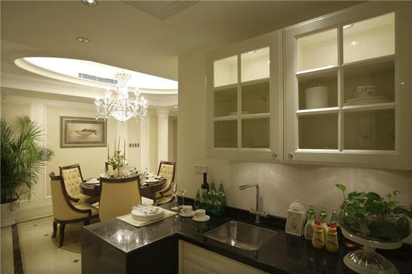 日升装饰 厨房图片来自装修设计芳芳在造简欧大气风 自然典雅高贵气质的分享