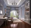 保利百合花园装修—成都高度国际—卧室装修细节效果