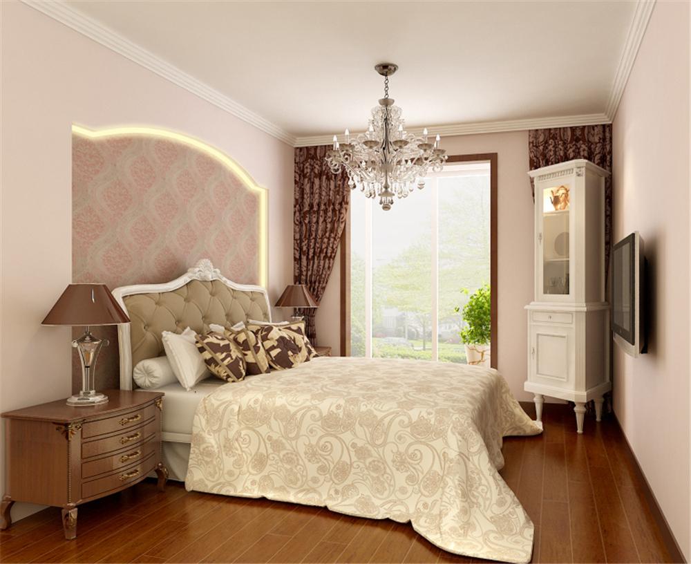 二居 白领 收纳 80后 小资 卧室图片来自实创装饰完美家装在中海金石公馆80平简欧风格案例的分享