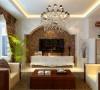 本案以简约风格为主要特征,客厅与餐厅相连接,使空间显得十分通透,时尚,舒服。