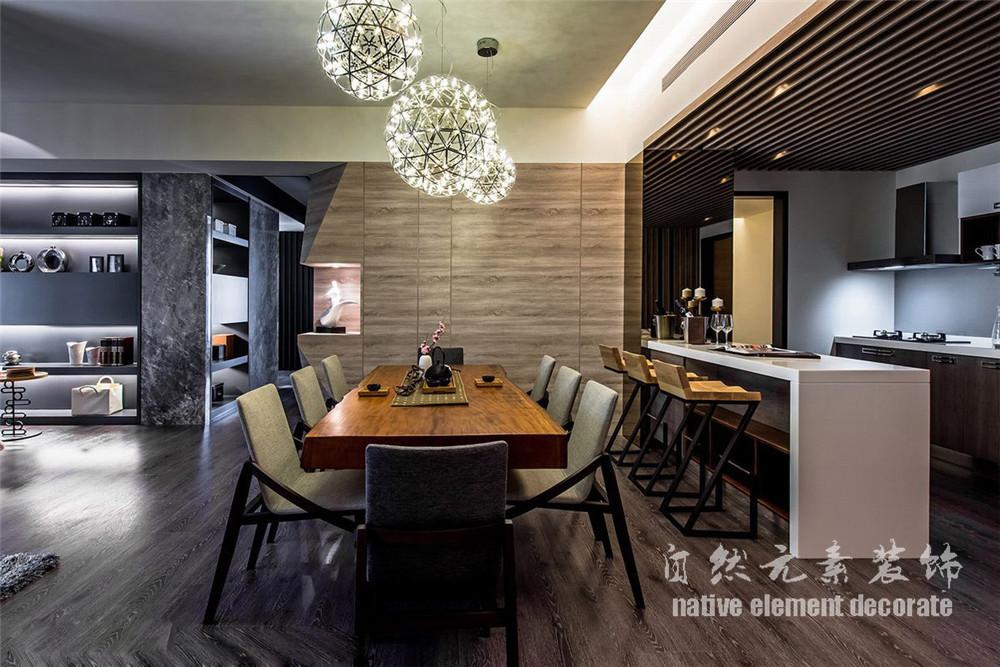 水木丹华 美式 小资 三居 白领 餐厅图片来自自然元素装饰在水木丹华——后现代主义的分享