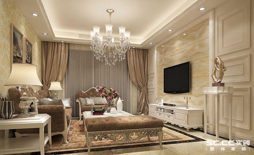 欧式 实创装饰 陈浩 客厅图片来自南京实创装饰陈浩在就要这个范的分享