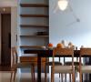 餐厅设计色彩不占用居室空间,不受空间结构的限制,运用方便灵活,最能体现居住者的个性风格