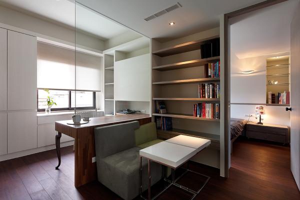 浅山香邑-四居室-160平米-书房装修设计