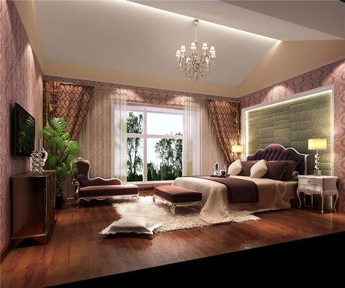 日升装饰 卧室图片来自装修设计芳芳在林影天下复式简欧风格案例的分享