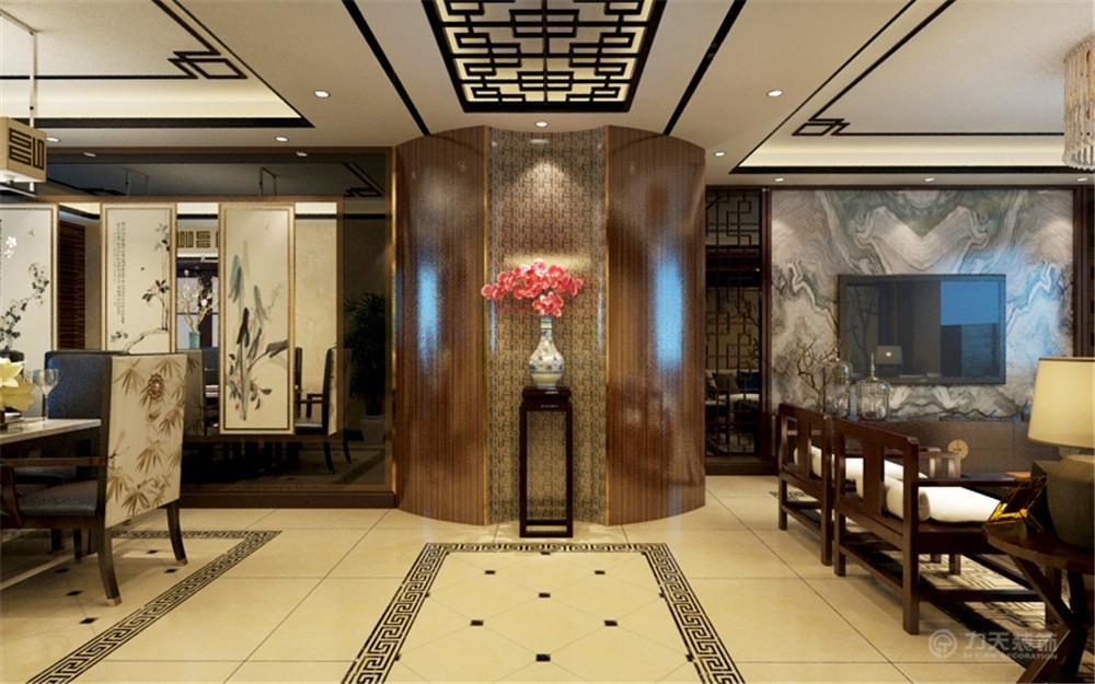 中式风格 三居 白领 收纳 80后 小资 玄关图片来自阳光放扉er在红城-149.1㎡-中式风格的分享