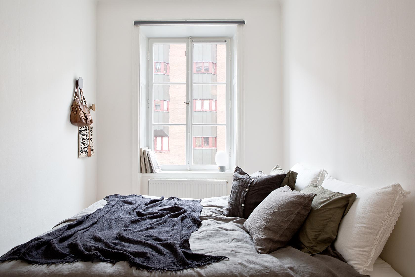 简约 三居 小资 白领 新房装修 婚房 90后 北欧风格 装修案例 卧室图片来自成都图美家装饰在简约北欧风格装修案例的分享
