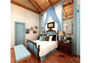 混搭 别墅 小清新 80后 白领 卧室图片来自百家装饰杨乐乐在碧桂园景园的分享