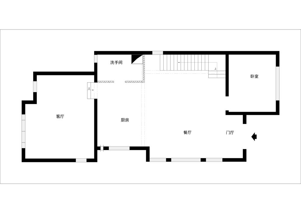 欧式 别墅 白领 收纳 80后 小资 户型图图片来自实创装饰完美家装在欧郡香水城346平西式古典风格的分享